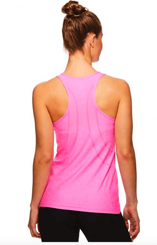 Reebok Women's Running & Workout Tank Top back