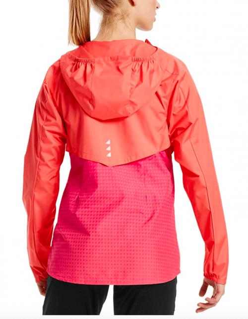Mission Women's VaporActive Barometer Running Jacket back