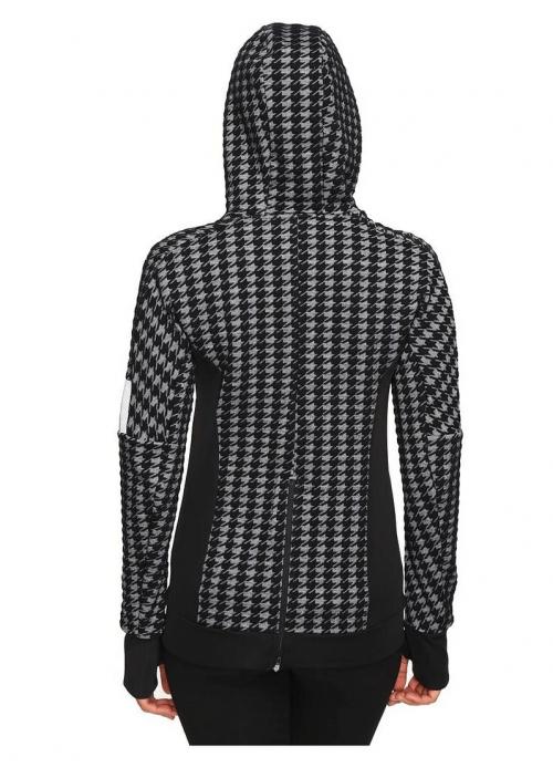 adidas Ultra Energy Womens Houndstooth Jacket back