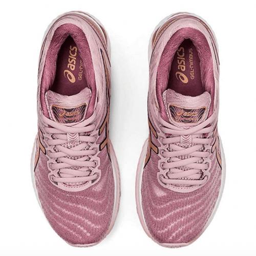 ASICS Women's Gel-Nimbus 22 (D) Running Shoes  laces