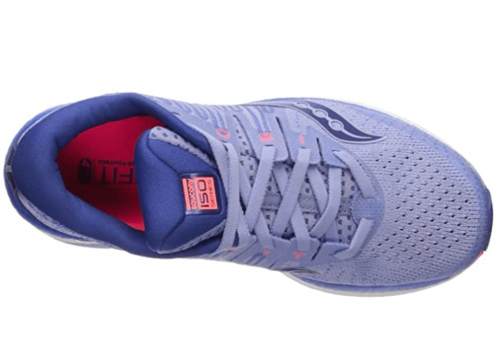 Saucony Women's Liberty Iso 2 Running Shoe laces