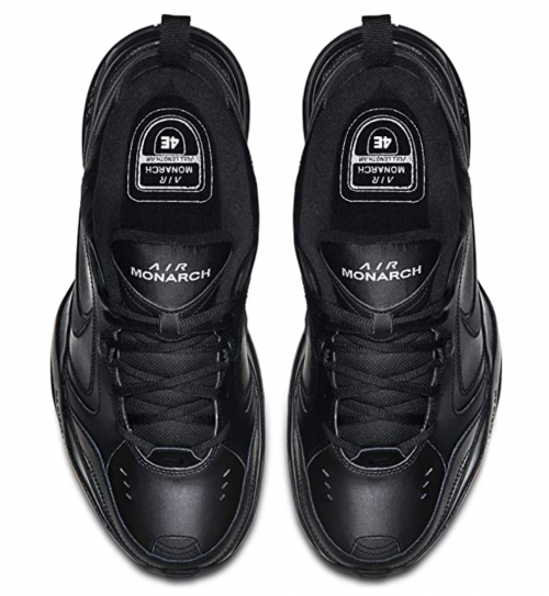 Nike Men's Air Monarch IV Cross Trainer laces