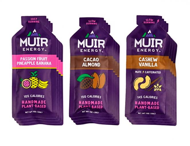 Muir Energy Real Food Energy Gel Variety Pack