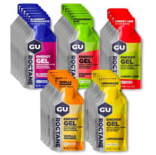 GU Energy Roctane Ultra Endurance Energy Gel, 24 – Count