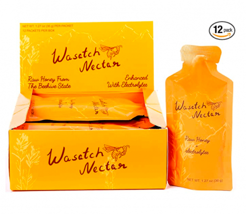 Wasatch Nectar Honey to Go Packets