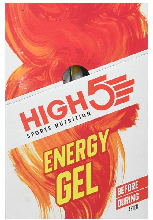 High 5 Energy Gel - 20 x 38g Sachet- Juicy Orange