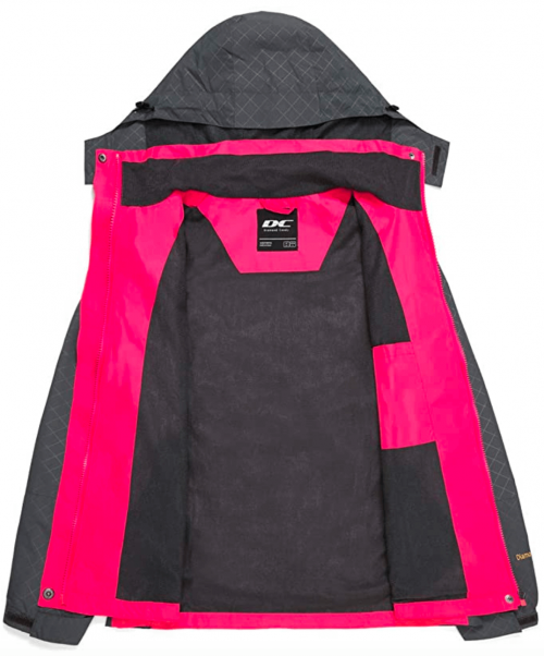 Diamond Candy Women's Rain Jacket 2