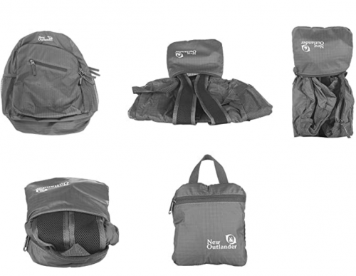 Outlander Ultra Lightweight Packable Water Resistant Travel Hiking Backpackn3