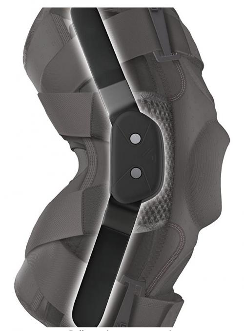 Hinged Knee Brace: Shock Doctor Maximum Support Compression Knee Brace 2