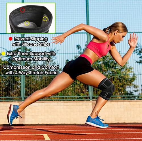 TechWare Pro Knee Compression Sleeve 3