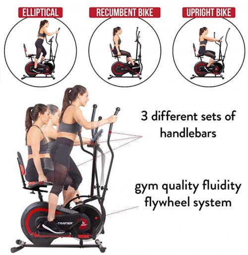Body Power 3-in-1 Exercise Machine specs