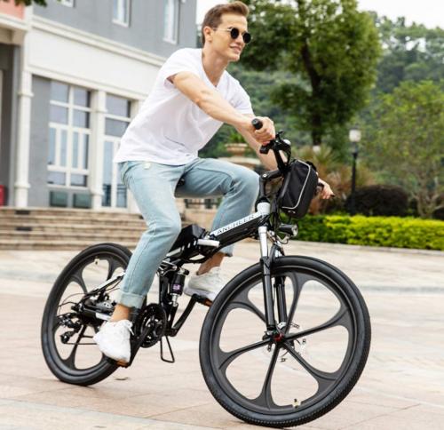 """ANCHEER 26"""" Folding Electric Mountain Bike 2"""