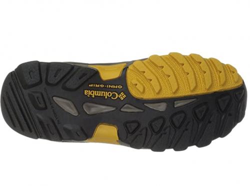 Columbia Youth Newton Ridge Leather Boot, Waterproof sole