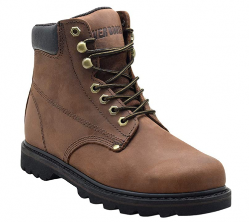 """EVER BOOTS """"Tank Men's Soft Toe Oil Full Grain Leather Work Boots"""