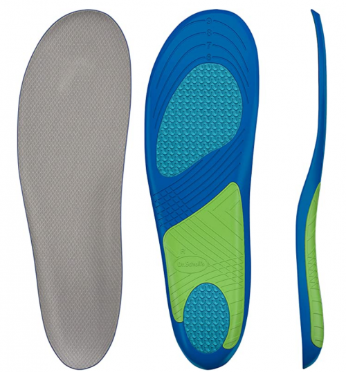 Dr. Scholl's Sport Insoles Superior Shock Absorption and Arch Support