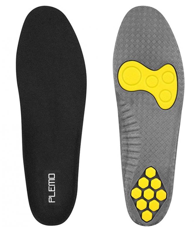 Plemo Gel Sports Shoe Insoles for Men Women