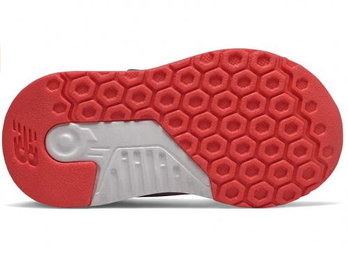 New Balance Unisex-Baby 455v2 Hook and Loop Running Shoe