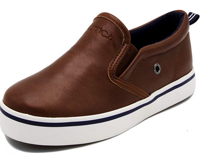 Nautica Kid's Slip-On Casual Shoe Athletic Sneaker - Youth-Toddler Akeley
