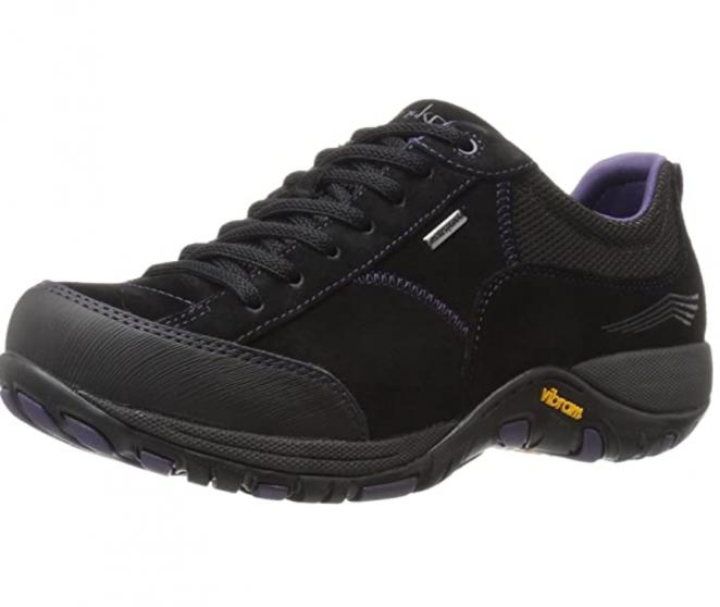 Dansko Women's Paisley Black Sneaker