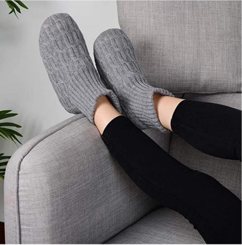 Panda Bros Fluffy Slipper Socks