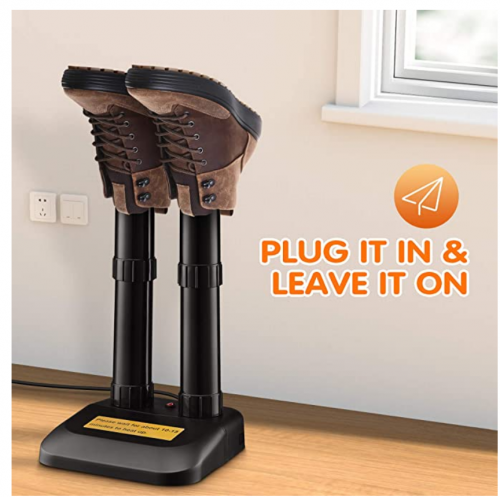 Boot Dryer - Electric Shoe Dryer, Easy Assembly and Control