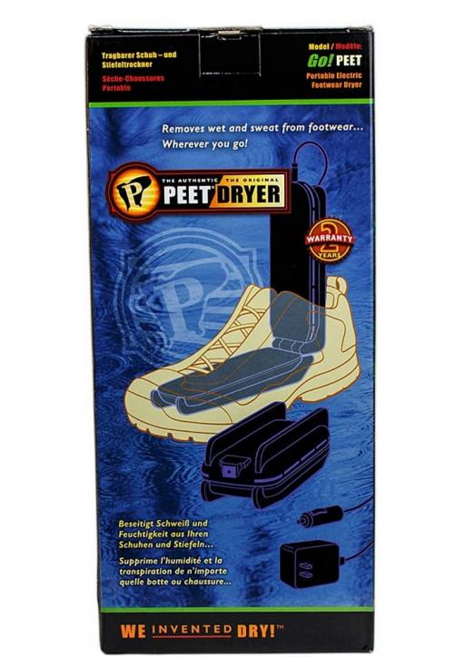 PEET, GO! Portable 2-Shoe Electric Dryer