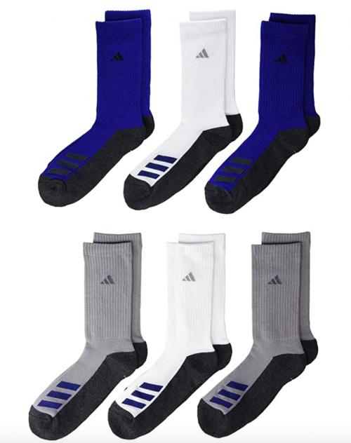 adidas Youth Kids-Boy's/Girl's Cushioned Crew Socks