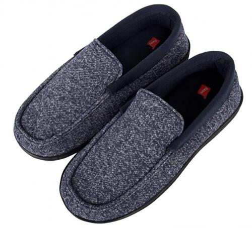 Hanes Men's Moccasin Slipper House Shoes