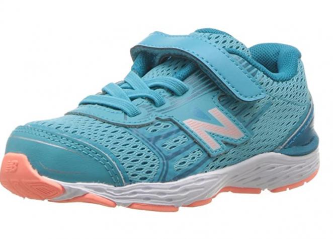 New Balance Unisex-Child 680V5 Hook and Loop Running Shoe