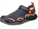 Crocs Men's Swiftwater Mesh Deck Closed Toe Sandals