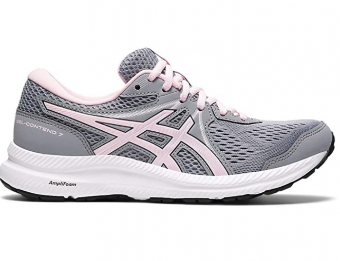 ASICS Women's Gel-Contend 7 (D) Running Shoes - best shock absorbing shoes