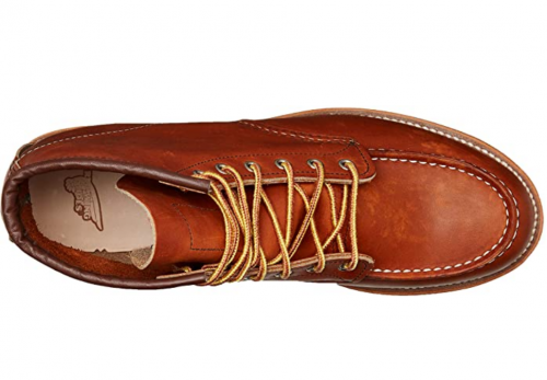 """Red Wing Heritage Men's 6"""" Classic Moc Toe Boot"""