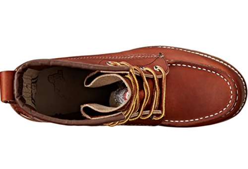 """Red Wing Heritage Men's 8"""" Classic Moc Toe Boot"""