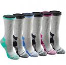Dickies womens Dritech Advanced Moisture Wicking Crew Sock