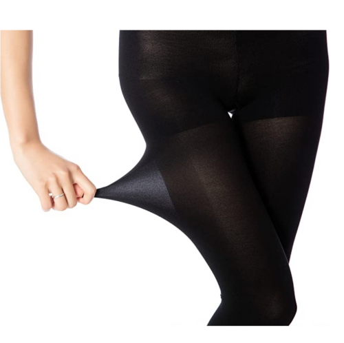 MANZI Women's 2-6 Pairs Opaque Control-Top Tights with Comfort Stretch 70 Denier