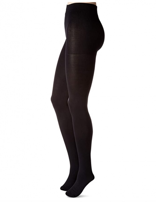 HUE Women's Blackout Tights with Control Top