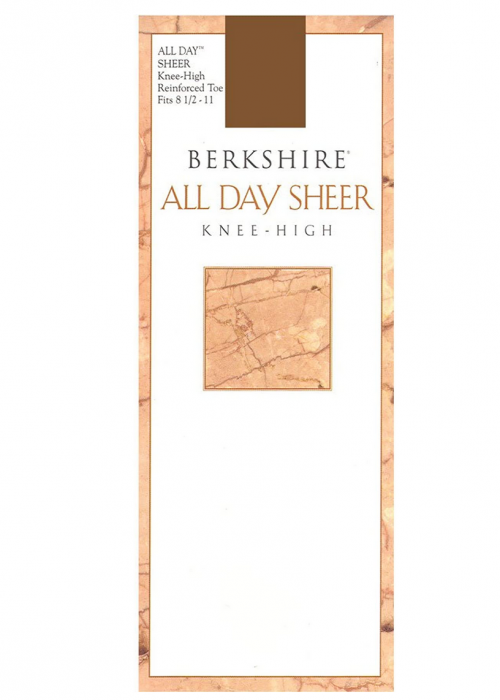 Berkshire Women's All Day Knee High Pantyhose with Reinforced Toe
