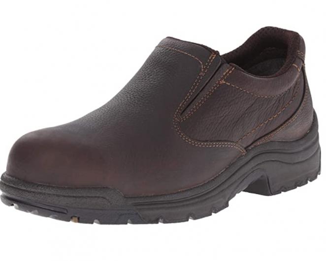 Timberland PRO Men's 53534 TiTAN Safety-Toe Slip-On Loafer
