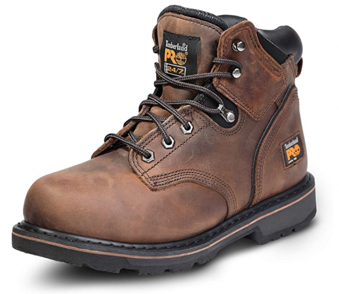 "Timberland PRO Men's 6"" Pit Boss Steel Toe Industrial Work Boot"