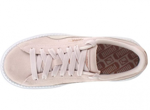 PUMA Women's Suede Platform Trace Sneakers