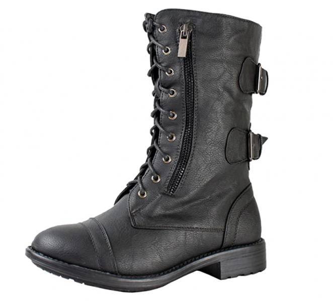 Top Moda Pack-72 punk combat boots