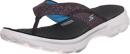Skechers Go Walk Pizazz flip flops for long distance walking