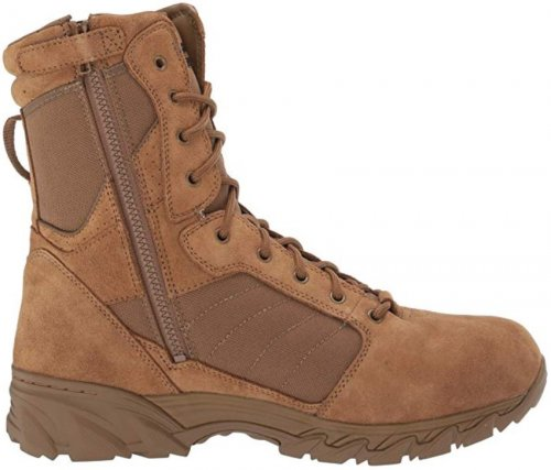 Smith & Wesson Breach 2.0 light brown & tan boots side view
