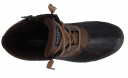 A top view of the comfy insert of the Sperry Womens Syren Gulf Closed Toe Ankle Cold Weather Boots