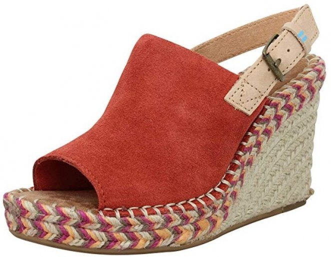 TOMS Monica Best Suede Shoes