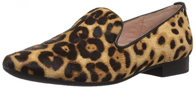 Taryn Rose Bryanna leopard print shoes