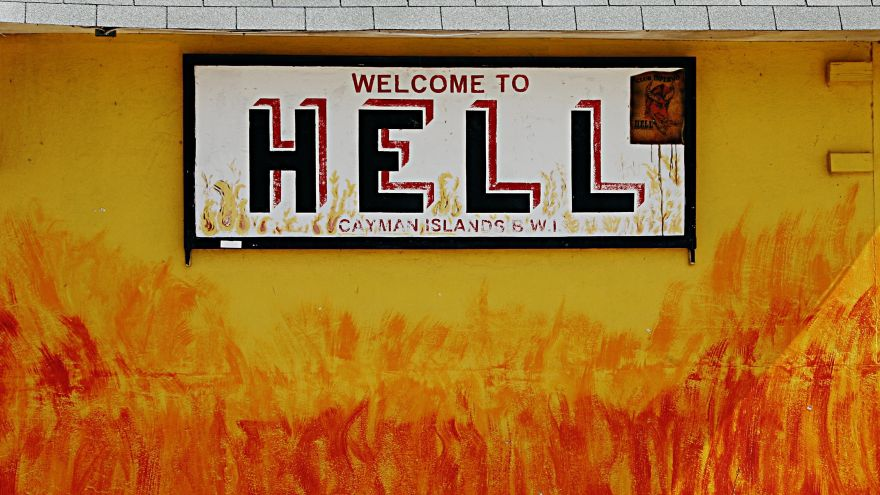 Ten Things They'll Make You Do in Hell and the Footwear You Need to Cope