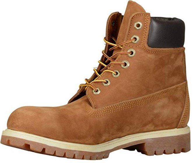 Timberland 6 Inch Premium light brown & tan boots