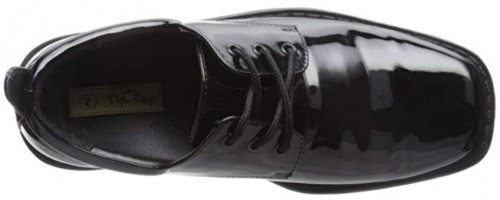 TipTop Patent Oxford Best Toddler Wedding Shoes