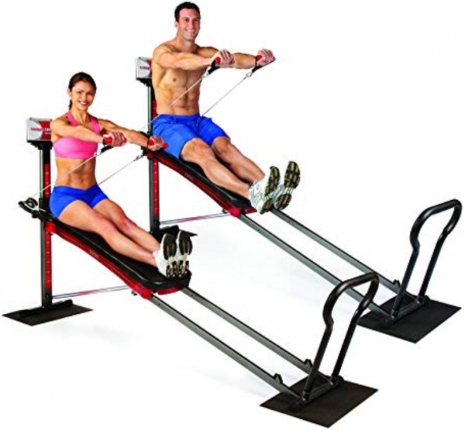 image of Total Gym 1900 Deluxe best home gym equipment